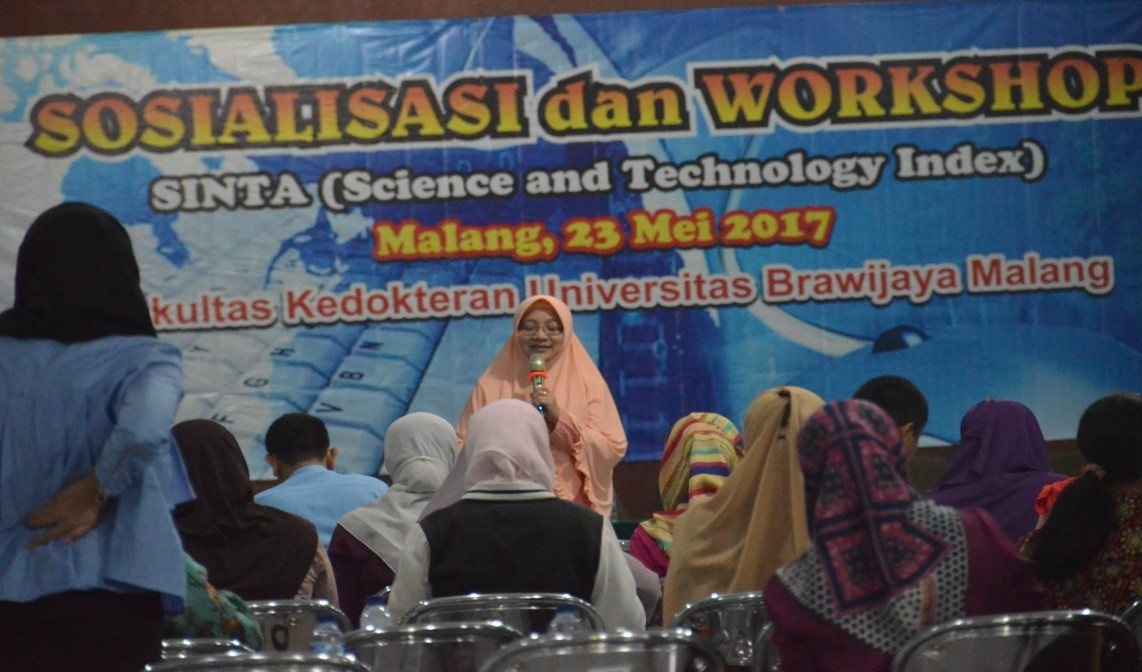 SOSIALISASI DAN WORKSHOP REGISTRASI SINTA 2
